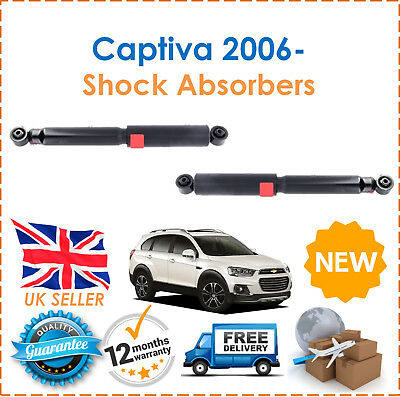 FOR CHEVROLET CAPTIVA C100 C140 2006--/>on 2X REAR LEFT RIGHT SHOCK ABSORBERS SET