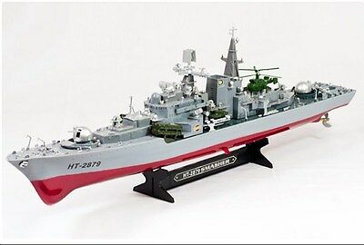 "Fast Warship RC Boat 31"" Destroyer Remote Control Scale Naval Battleship all age"