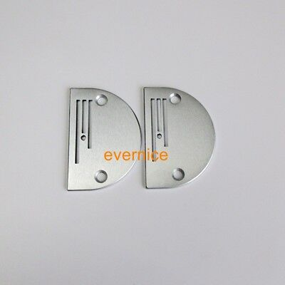 2 Pcs Big Hole Needle Plate B26 For Industrial Sewing Machine Brother Juki
