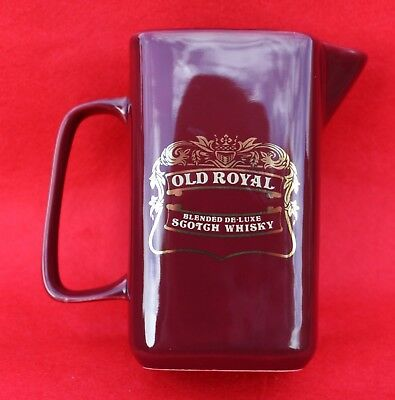 Old Royal Scotch Whisky Water Jug