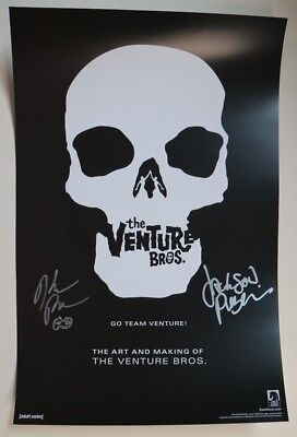 SDCC Comic Con 2018 The Venture Bros Dark Horse Exclusive Poster Cast SIGNED