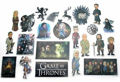 Game of Thrones TV Series Assorted Decals Lot of 23 Stickers