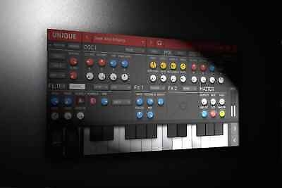 SUGAR BYTES UNIQUE SYNTHESIZER software vowel filter SYNTH