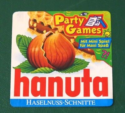 FERRERO hanuta - Umhüllung: Party Games 1999 TOP