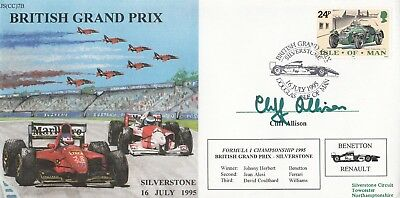 JS(CC)7b Douglas British Grand Prix Silverstone Signed Cliff Allison winner 16