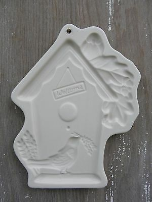 Welcome Birdhouse Shortbread Cookie Mold Candy Crafts Pfaltzgraff