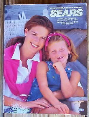 Vintage 1993 Sears Catalog  Spring Summer  Last Year Issued From Sears