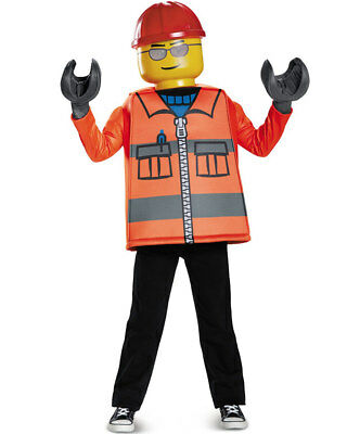 Lego Construction Worker Classic Boys Costume