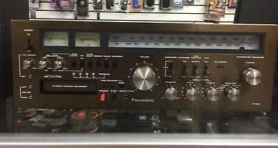 Panasonic Ra-6600 Receiver Amplifier With 8 Track Player