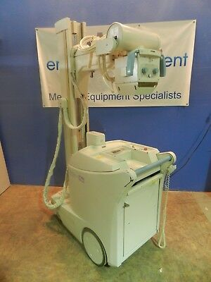 Shimazdu Mobile Art Plus Mobile X-Ray Unit, with Manuals and Key