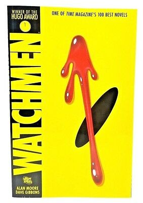Dc Comics - Watchmen By Alan Moore & David Gibbons - (1995, Paperback)