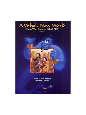 Tim Rice And Alan Menken: A Whole New World PVG Notenbuch