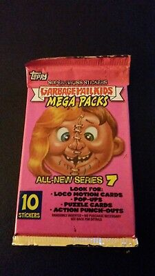 2007 Garbage Pail Kids All New Series 7 - 1 sealed pack 10 stickers