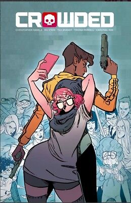 Crowded #1 Cover A & Cover B Set Image Comics Movie Coming Pre-sale NM or better