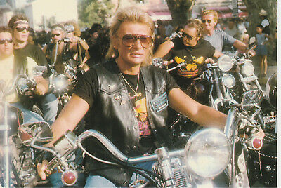carte postale Johnny Hallyday   N°  3330