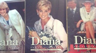Princess Diana, The Untold Story, Inserts 2,5,6 The Advertiser - Sunday Mail