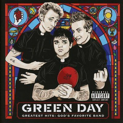 Greatest Hits: God's Favorite Band [PA] by Green Day (CD, Nov-2017, Reprise)