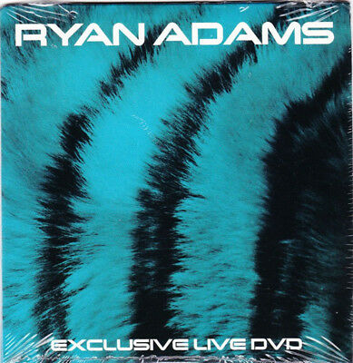 RYAN ADAMS Exclusive Live DVD 2007 Special 3-track Promo-only item NEW & SEALED!