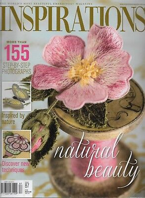 INSPIRATIONS Embroidery Magazine Issue 87 (2015) 7 Projects