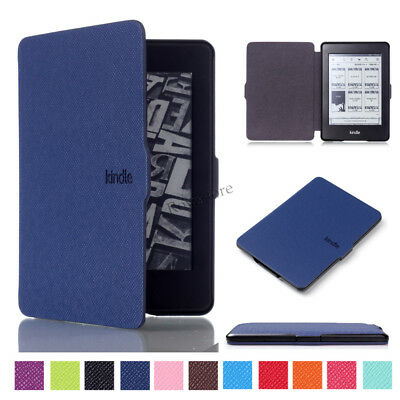 Ultra Slim Leather Magnetic Smart Case Cover Skin For Kindle Paperwhite 1/2/3