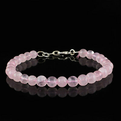 RARE 132.45 CTS EARTH MINED RICH RED RUBY ROUND SHAPED FACETED BEADS BRACELET