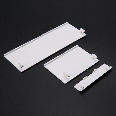 3x White Door Slot Cover Repair Parts For Nintendo Wii Console LW SZUS Accessory