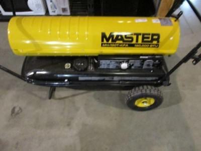 Master 190000 BTU Kerosene Forced Air Heater with Thermostat New!