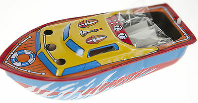 4x TIN TOY POP POP CANDLE POWERED BOATS INCLUDES 4 FUEL CANDLES  STEAM BOAT