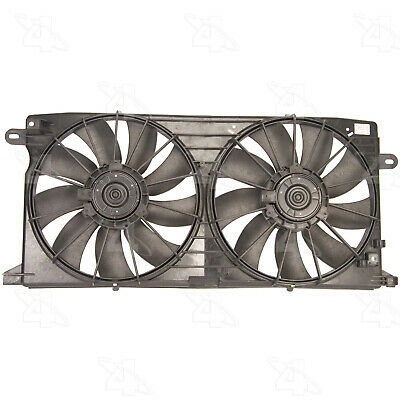 DUAL RADIATOR AND Condenser Cooling Fan Assembly For 1998