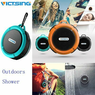 VicTsing Waterproof Bluetooth Speaker Wireless Shower Radio Suction Cup Stereo