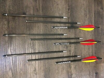 3 Carbonpfeile Take Down Survival Arrow 3 Piece Gold Tip Warrior 340