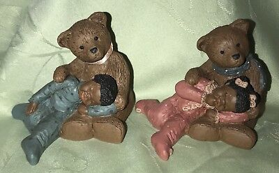 All God's Children Paddy Paw & Lucy Paddy Paw & Luke Bear Black Americana
