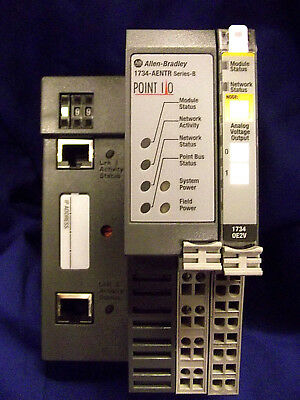 Allen Bradley -1734 - AENTR  SerB  Dual Port Network Adapter Point IO +1734OE2V