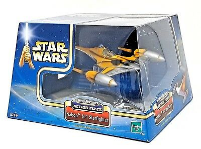 Star Wars Micro Machines Action Fleet  Naboo N-1 Starfighter Action Figure - New
