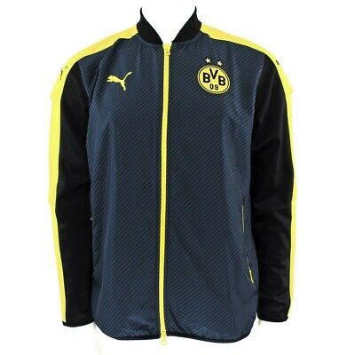 Puma Bvb Bonnet Stadium Jacket 749841 02 Veste de Sweat Homme