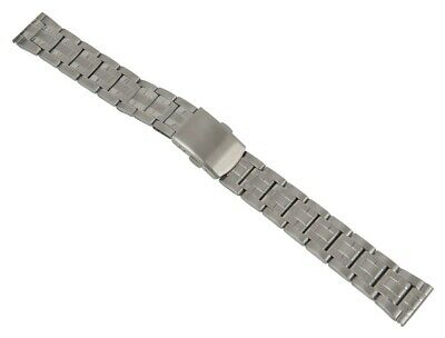 Minott Watch Band Stainless Steel Band Silver Colored Matt / High Gloss 26860