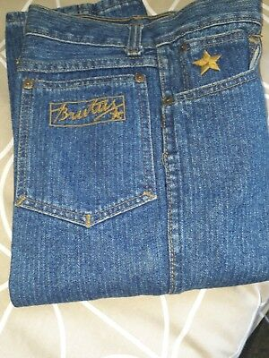 Ladies Vintage Brutus  Jeans Sz 8.new Old Stock Without  Tags.  Mod. Hip.