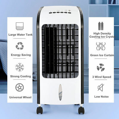Portable Air Conditioner Air Conditioning Fan Humidifier Cooler Cooling System