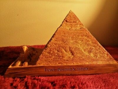 Pyramid of Giza detail souvenir building replica architecture model paperweight