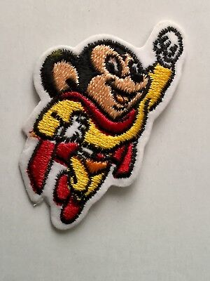 Mighty Mouse cartoon rare vintage patch