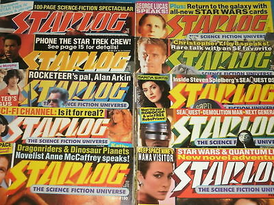 STARLOG & Sci-Fi Magazines: Star Trek, X-Files, Jurassic Park,Batman Movies & TV