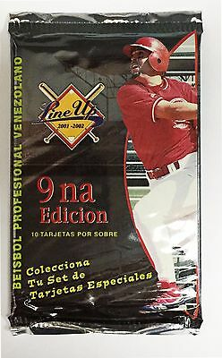 2001 Venezuelan unopened  Line up BASEBALL CARD PACK