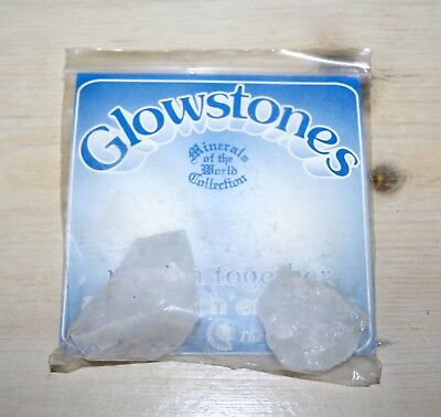 Vintage Tobar Glowstones (Minerals Of The World Collection) Unused
