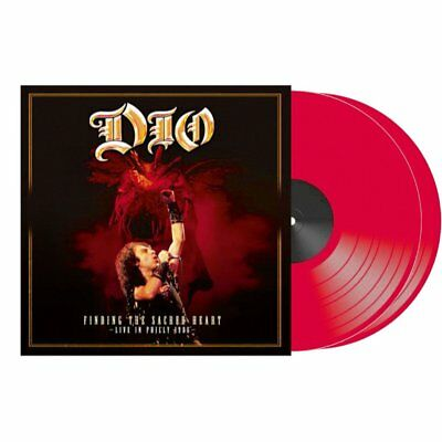 DIO - Finding The Sacred Heart - Live In Philly 1986 - RED VINYL 2LP