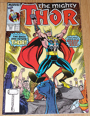 The Mighty Thor #384 (October 1987) Future Thor Dargo 1st App - Marvel Comics