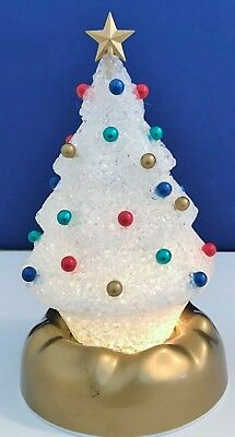 """Avon Gift Collection Lighted """"Twinkling Tree"""" Pre-Owned Excellent Condition"""