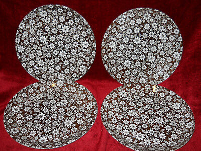 Johnson Brothers Country Cupboard set of 4 dinner plates crazed