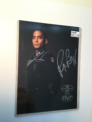 Babylon 5 Rare TNT Signed special Card with COA