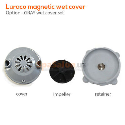 LURACO magnetic pipeless jet cover for spa pedicure chairs