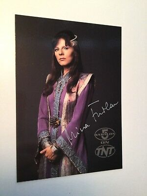 Babylon 5 Rare Mira Furlan Signed TNT Card with COA